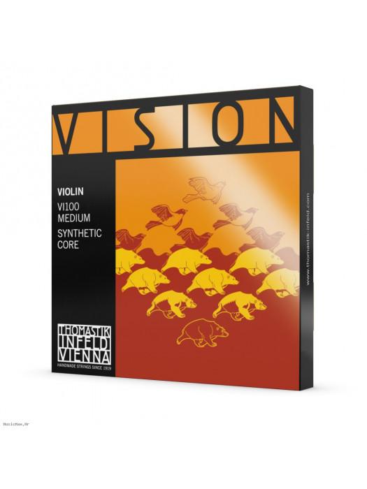 THOMASTIK VISION VI100 ŽICE ZA VIOLINU 4/4