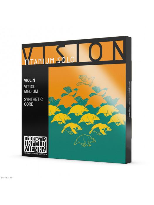 THOMASTIK VIT100 4/4 VISION TITANIUM VIOLIN STRINGS