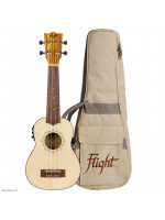 FLIGHT DUS320CEQ SP/ZEB SOPRAN UKULELE