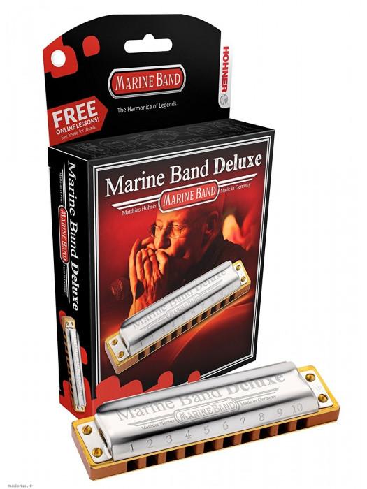 HOHNER 2005/20 Marine Band DELUXE A usna harmonika