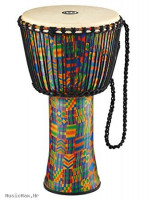 MEINL 14 AFRICAN DJEMBE KENYAN QUILT TRAVEL GOAT SKIN HEAD