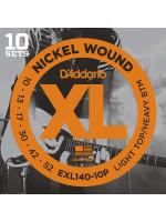 DADDARIO EXL140-10P 10 PACK SET 10-52 žice za električnu gitaru