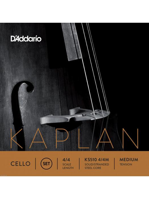 DADDARIO KS510 Kaplan 4/4 Medium žice za violončelo