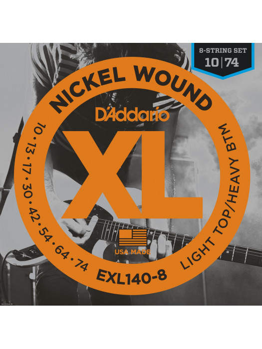 DADDARIO EXL140-8 ŽICE XL LIT/HVY