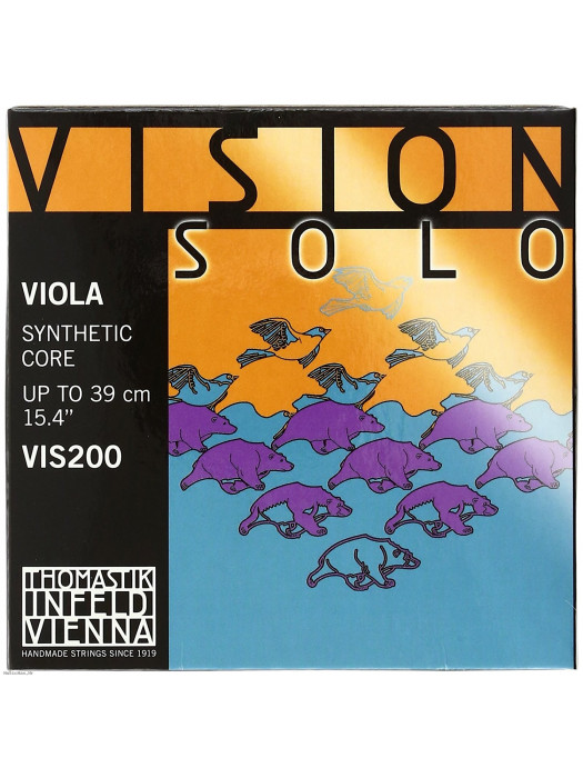 THOMASTIK VIOLA STRINGS VIS200 SOLO