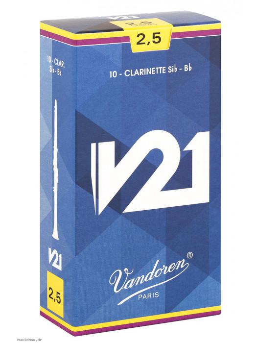 VANDOREN V21 2,5 cr8025 JEZIČCI ZA KLARINET