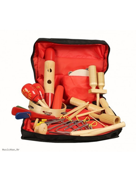 FLIGHT FPS-17 PERCUSSION SET, 17 PCS