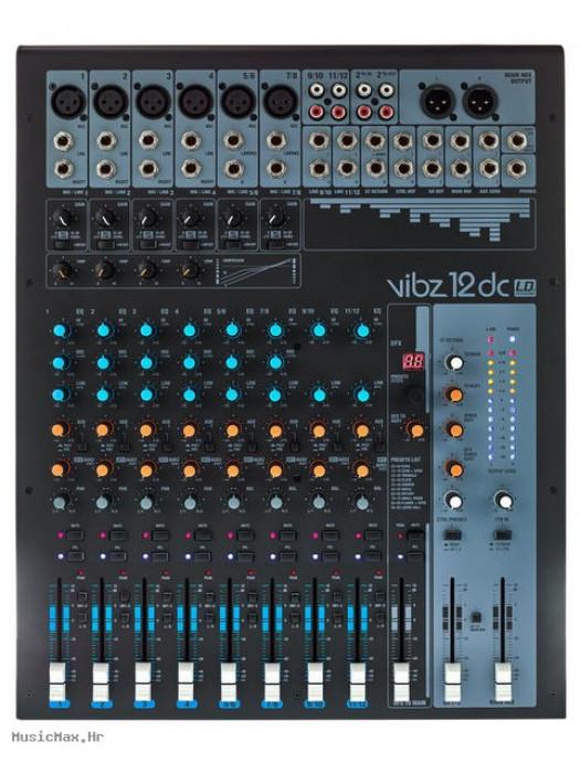 LD SYSTEMS VIBZ 12 DC DFX miks pult