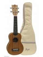 FLIGHT DUS321 Mah/Mah NAT sopran ukulele s torbom