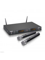 LD SYSTEMS WS1G8 HHC2 - 2X WIRELESS SYSTEM CONDENSER HANDHELD MICROPHONE