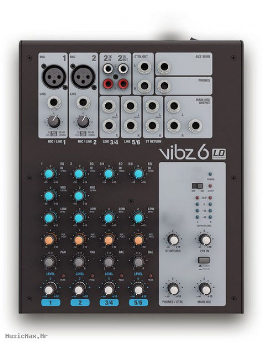 LD SYSTEMS VIBZ 6 miks pult