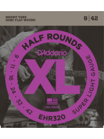 DADDARIO EHR320 HALF ROUND ŽICE SUPER LIGHT 9-42