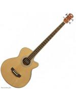 FLIGHT AB-10 Nat akustična bas gitara