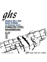 GHS 5630 BASS STRINGS DOUBLE BALLEND 45-106