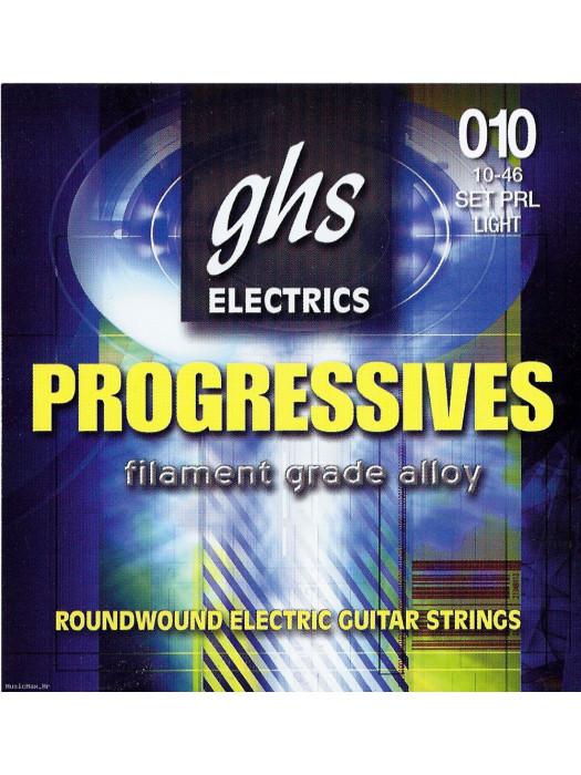 GHS PRL ELECTRIC STRINGS,PROGRESS..010-0.46