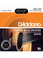 DADDARIO EXP10 10-47 žice za akustičnu gitaru