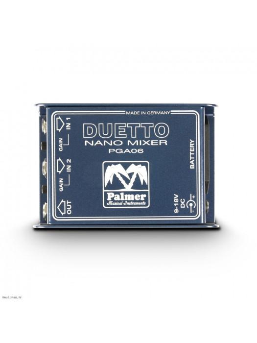 PALMER PDUETTO NANO MIXER FOR GUITARS AND LINE SIGNALS gitarsko pojačalo