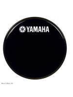 YAMAHA DRUM HEAD BLACK 20