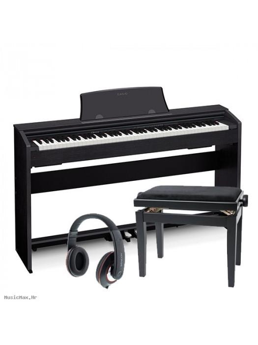 CASIO PX 770 BK digitalni klavir - set