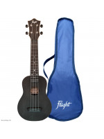FLIGHT TUS35BK TRAVEL UKULELE SOPRAN CRNA