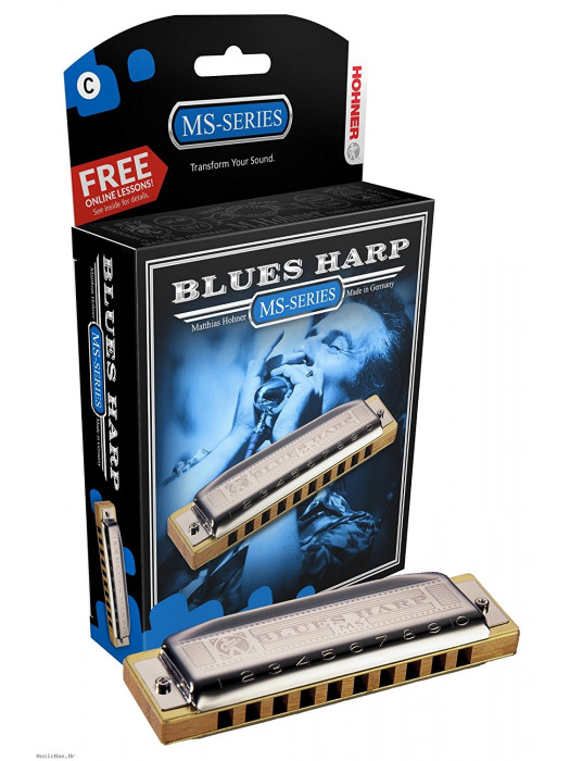 HOHNER 532/20 Blues Harp D usna harmonika