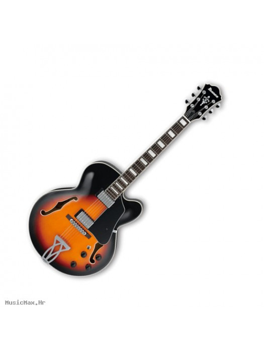 IBANEZ AF75G BKF električna gitara