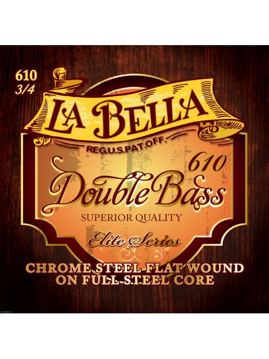 LA BELLA RC-610 3/4 žice za kontrabas
