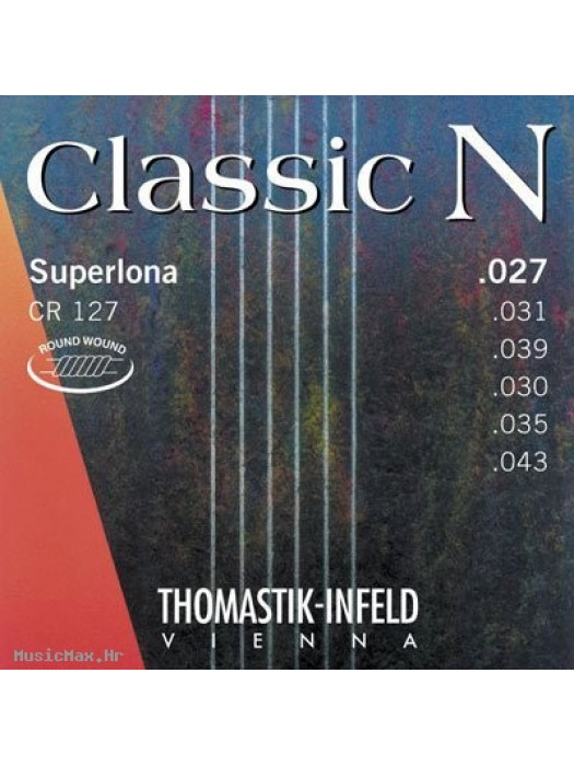 THOMASTIK CR127 Classic N Superlona 27-43 žice za klasičnu gitaru