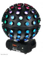 CAMEO CLRF ROTOFEVER MIRROR BALL EMULATOR LIGHT LED Moving Head