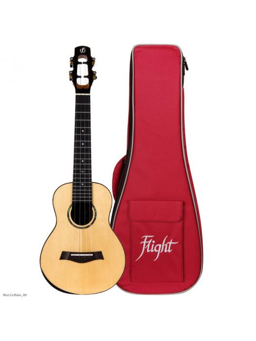 FLIGHT Voyager EQ koncert ukulele s torbom