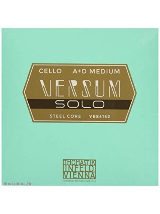 THOMASTIK VES4142 Versum Solo A+D žice za violončelo