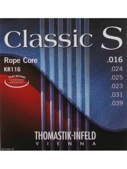 THOMASTIK KR116 Classic S Flatwound Medium žice za klasičnu gitaru