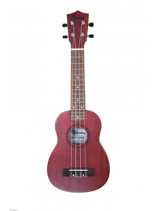 VESTON KUS100 Red ukulele sopran