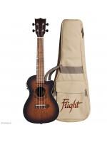FLIGHT DUC380 CEQ Amber koncert ukulele s torbom