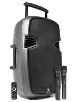 VONYX SPJ-PA915 PORTABLE SOUND SYSTEM15 2 UHF BT