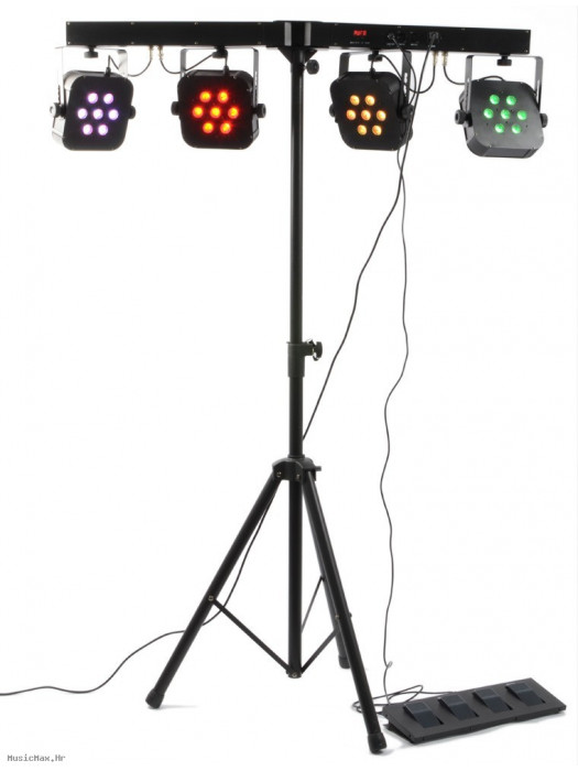 BEAMZ LED PARBAR KIT 7 LED Multipar