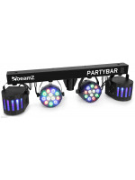 BEAMZ PARTYBAR2 2derby+2led LED Multipar
