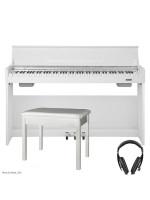 NUX WK-310 WHITE digitalni klavir - set