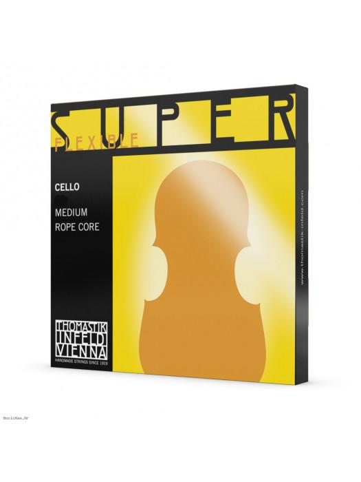THOMASTIK 794 Superflexible 3/4 žice za violončelo