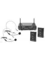 VONYX STWM712H VHF 2 Channel bežični naglavni mikrofon