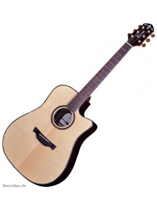 CRAFTER LX D-3000ce (W/HC-DG) with DS-2 Pro Preamp Nat elektro-akustična gitara