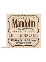 DADDARIO J62 STRINGS FOR MANDOLIN