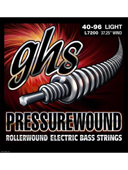 GHS L7200 - ŽICE ZA BAS PRESSUREWOUND FLATS.040-096