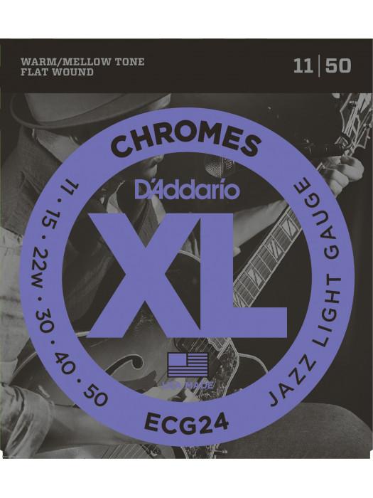 DADDARIO ECG24 11-50 brušene žice za električnu gitaru