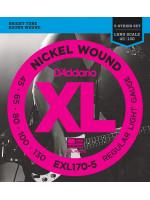 DADDARIO EXL170-5 45-130 žice za bas gitaru