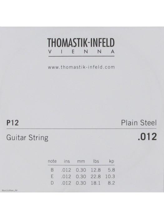 THOMASTIK P12 012 pojedinačna čelična žica za akustičnu/ električnu gitaru