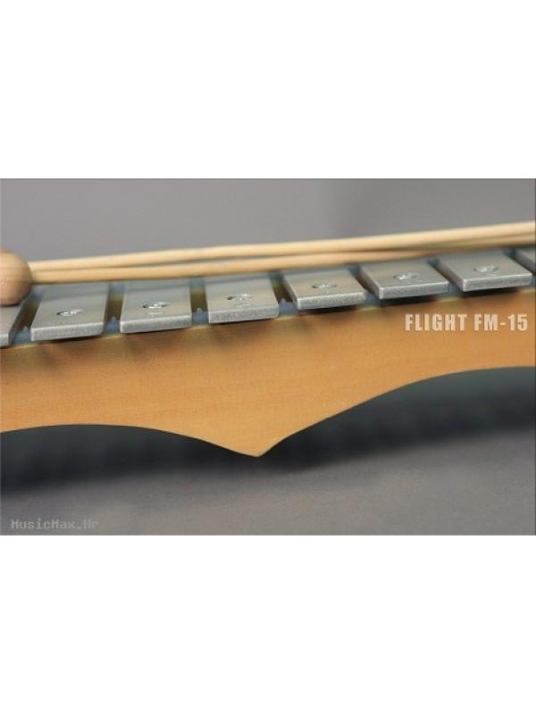FLIGHT FM-15 15 Metal Plates metalofoni
