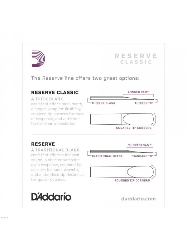 RICO DCT1030 RESERVE 3.0 trske za bb klarinet