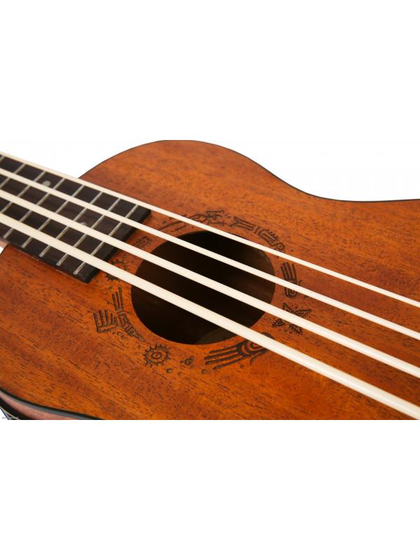 FLIGHT DU-BASS Mah/Mah NAT bas ukulele s torbom