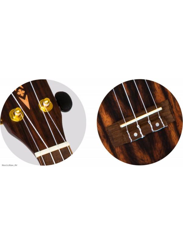 FLIGHT DUS460 Amara sopran ukulele s torbom